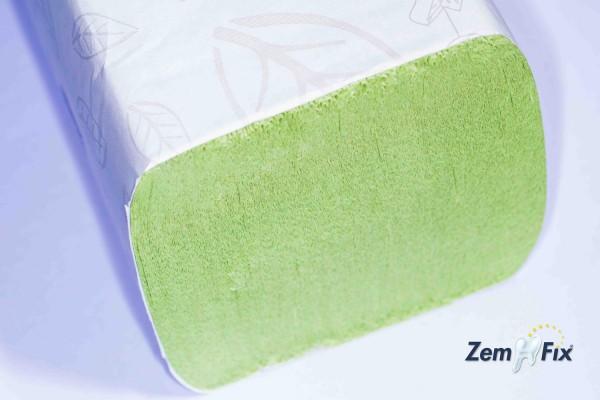 Tork Advanced Zickzack Papier Handtücher H3, grün, 2-lagig, 23 x 25 cm, 3750 Stück